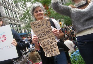 We Are The 99 Percent, Occupy Wall Street, protest, Social Security