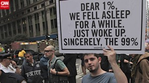 Occupy Wall Street Movement, political protest